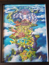 Pokemon Sword & Shield Map - Album on Imgur