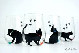 cat wine glasses glass meme urban outfitters charms
