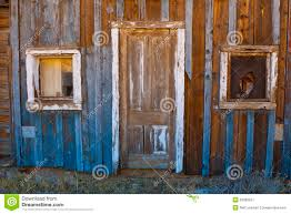 ghost town old door and windows