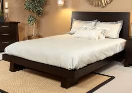Driftwood Bedroom Furniture Hiro Espresso Platform Bed Haiku Designs