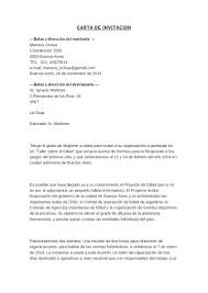 Cartas De Invitacion Formal Rome Fontanacountryinn Com