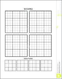 Grid Template Word Subtraction Table Chart Blank Addition Grid Template Word