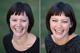 airbrushing vs regular makeup looking