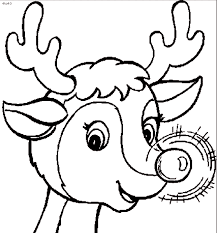 Small Picture Good Reindeer Coloring Page 30 About Remodel Coloring Print with