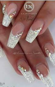 pinterest wedding nails. LOVE this nail art look Woud be very pretty for a bride wedding