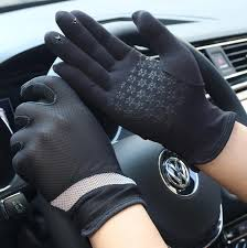 Men's spring <b>summer thin elastic</b> striped short gloves male summer ...