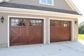 oxford carriage door ltd 9 0 x 7 0 stratford design cedar carriage garage doors wood garage doors carriage doors stained using sansin enviro stain