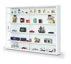 easy home simply a20 white display cabinet wall storage sliding glass door