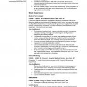 Medtech Resume Sample Philippines Label Medical Technologist