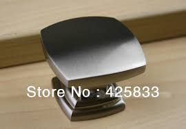 brushed nickel cabinet handles. 8pcs single square brushed nickel cabinet handles kitchen knobs and drawer kids dresser pulls shoe door