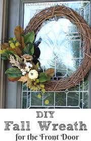 wreaths for front doorsDIY Wreath for the Front Door  Love Our Real Life