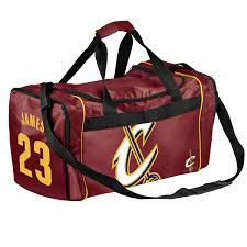 lebron bag. amazon.com : cleveland cavaliers lebron james #23 core duffle bag sports \u0026 outdoors lebron -