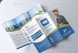 Template For Tri Fold Brochure Photoshop Tri Fold Brochure