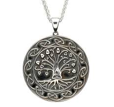 sterling silver celtic irish necklace
