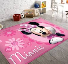 soft and non slip back disney marvel area rugs minnie mouse
