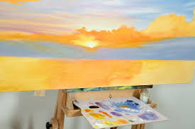 sunset painting tips clean colours 3