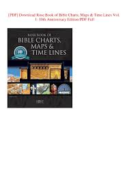 Pdf Download Rose Book Of Bible Charts Maps Time Lines