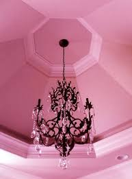 cute though i dont like the tacky glass things and i would have adorable pink chandelier