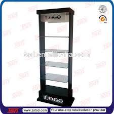 Free Standing Retail Display Units Tsdm100 Black Powder Coating Salon Display UnitsShampoo Hair 63
