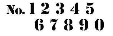 Number Stencil Font Font Cutoutsflf For Stencils I Do It Yourself