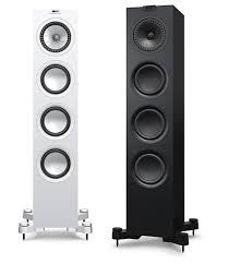 kef tower speakers. a rhapsody in ebony and ivory kef tower speakers