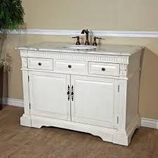 White Wood Bathroom Vanity Sink Wood Vanity Antique White Bathroom Double Vanity Cabinets