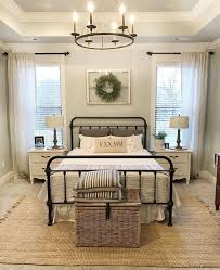 Master bedroom furniture ideas Room Master Bedroom Of Neutral Colors And Soft Tones Featuring Chandelier And Greenery Wreath Pinterest Master Bedroom Of Neutral Colors And Soft Tones Featuring