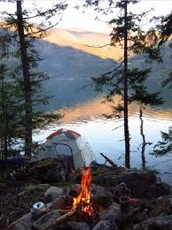 camping in the woods with a fire. Perfect Camping Camping On The Lake Nature Scenery Photography Throughout In The Woods With A Fire G