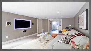 While planning out the paint job for your basement, it is important to keep these ideas in mind for giving the most height and light to your underground space possible Basement Paint Color Ideas With White Doors Bedroom Colour Schemes