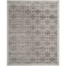 safavieh amherst moroccan gray light gray indoor outdoor moroccan area rug common