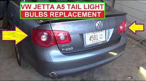 2012 Vw Jetta Brake Light Replacement Vw Jetta Mk5 A5 Rear Tail Light Bulb Replacement Rear Left Right Turn Signal Brake Light Bulb