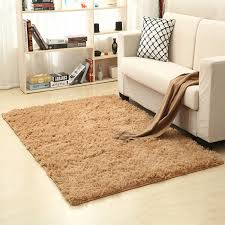 uk small large size thick plain soft gy living room rug bedroom