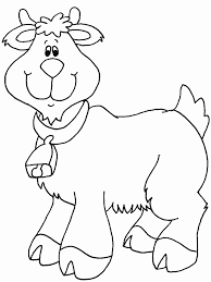 Small Picture Goat Animals Coloring Pages Coloring Book