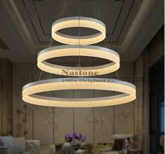 ring  ring  rings circles modern led pendant lights for dining