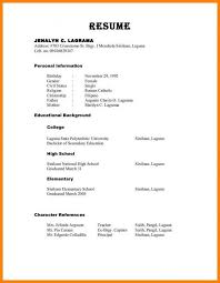 How To Format References On A Resume Classy Resume Format References Resume Templates Design Cover Letter