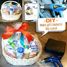 basket shrink wrap bags cellophane gift bags gift ideas basket gift wrap how to