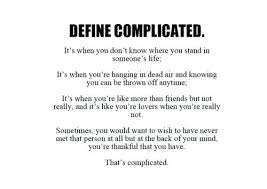 Complicated Love Quotes Gorgeous My Love Is Complicated Quotes As Well As Complicated Love To Frame