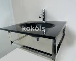 vessel sink installation pop square bathroom kraus drain workfuly