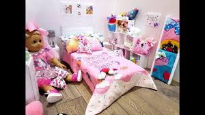 JOJO SIWA~AMERICAN GIRL DOLL BEDROOM SET UP (NEW ROOM TOUR) - YouTube