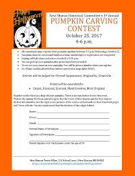 pumpkin carving contest flyer newsharon2 pumpkin carving contest