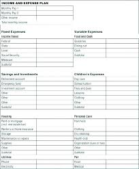 Expense Statement Template Income And Expense Statement Template Best Of 7 Expenditure Bud