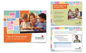 Free Childcare Advertising Free Daycare Flyer Templates