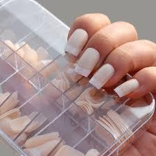 Trd False Nails With Box Body Umělé Nehty Tělové Sada Fm Kytičky 100ks