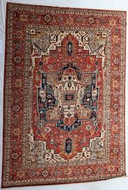 carpet 15 x 15. new pakistan hand-knotted antique recreation of 19th century persian serapi 12\u0027x 15 carpet x e
