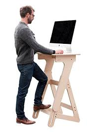 standing office table. Adjustable Height Stand Up Desk, Wood Standing Desk For Office And Home, Ergonomic Table