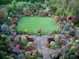 Small Picture Upper Garden Late Summer photo 2 on garden plan for national