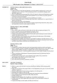 Instructional Aide Resume Samples Velvet Jobs