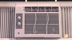 Home Air Conditioner Units Ge 6300 Btu Window Air Conditioner With Remote The Home Depot