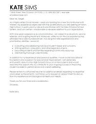 cover letter for youth worker cover letter for working with youth