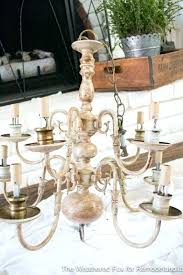 plug in chandelier the weathered fox chandelier makeover the weathered fox chandelier makeover lamps plus plug